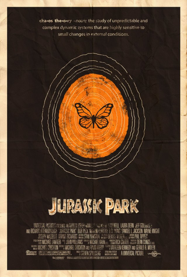 Jurassic Park by Adam Rabalais