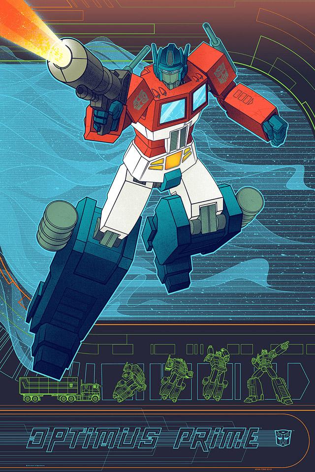 Optimus Prime - Kevin Tong