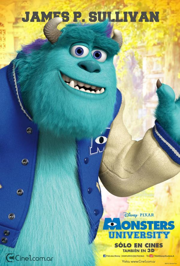 Take A Look At Disney-Pixar's 6 New International ... Monsters University Baby Sully