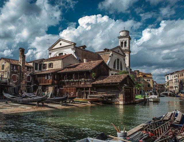 old shipyard, Venice, Italy