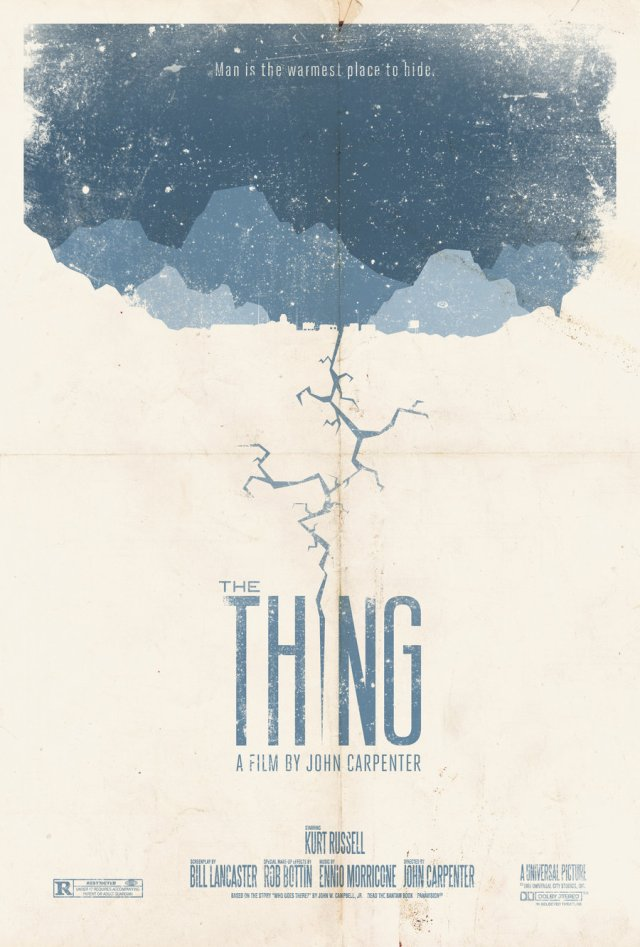 The Thing (Poster #2) - Adam Rabalais