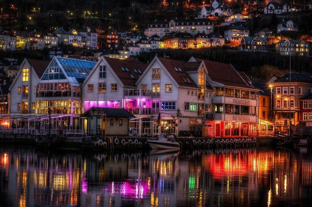 Zachariasbryggen, Bergen, Norway