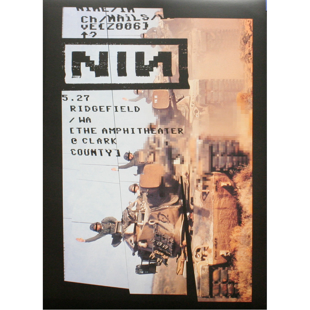 From The Vault – Limited Edition Nine Inch Nails Concert Posters ...