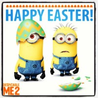 "Happy Easter From Blurppy And ""Despicable Me 2"""