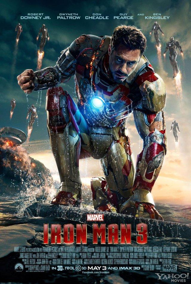 -iron man 3 poster