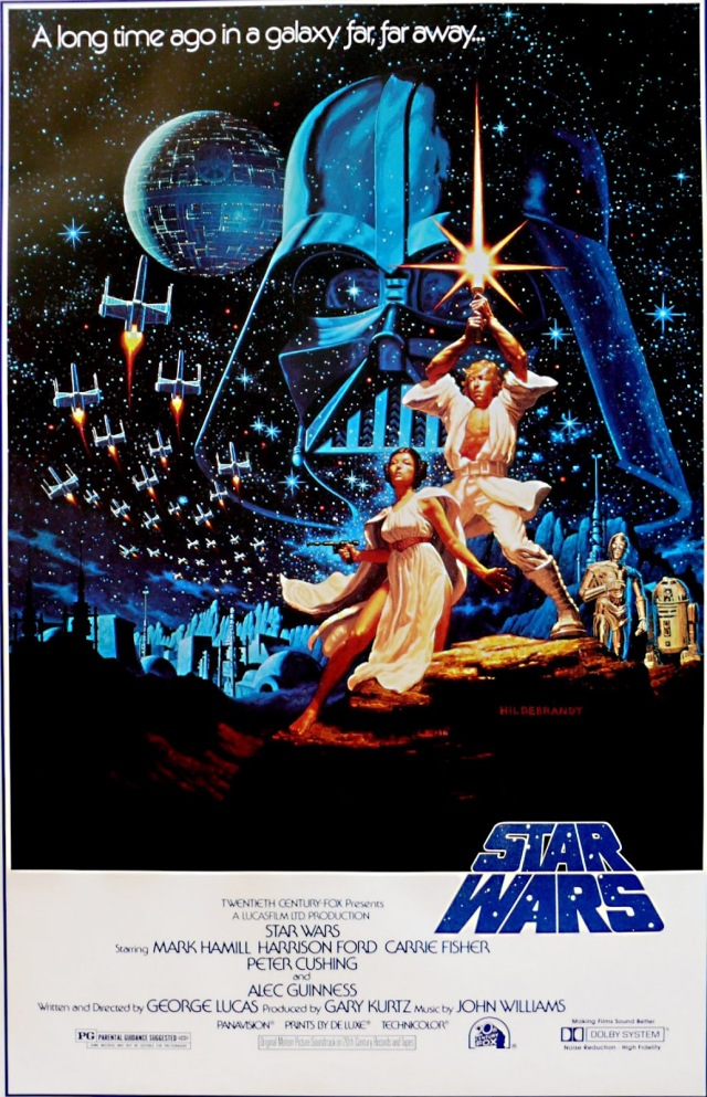 Star Wars - A New Hope (1977) Style B by Hildebrandt