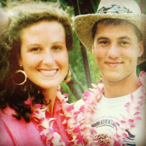 willie and korie in hawaii on their honeymoon