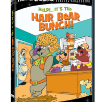 "The Classic Hanna-Barbera Series: ""Help! It's The Hair Bear Bunch!"" Is Newly Remastered And Available On DVD"