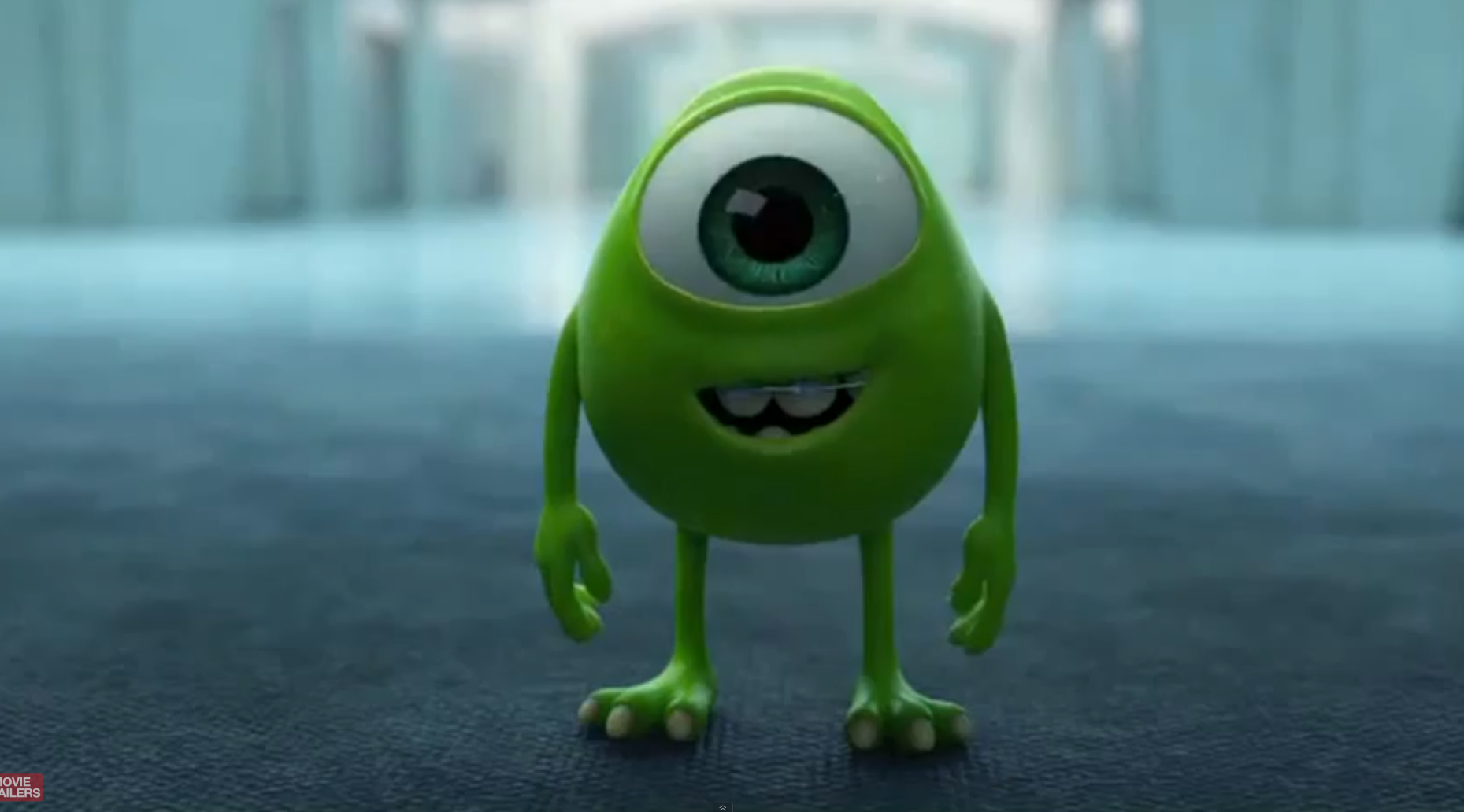 Monsters Inc Mike Wazowski Baby