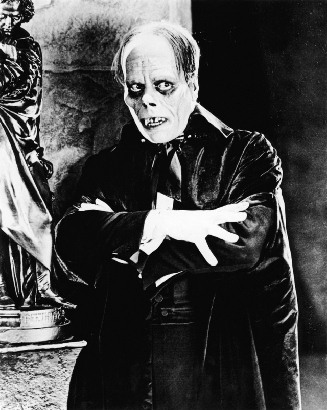 Lon Chaney as the Phantom of the Opera
