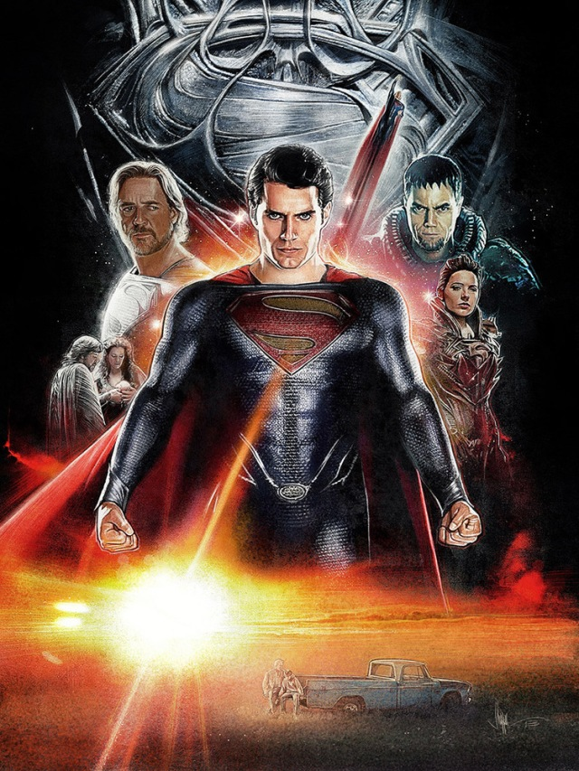 Man Of Steel by Paul Shipper