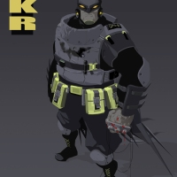 Salba Combe Gives Frank Miller's The Dark Knight Returns A Fresh New Look