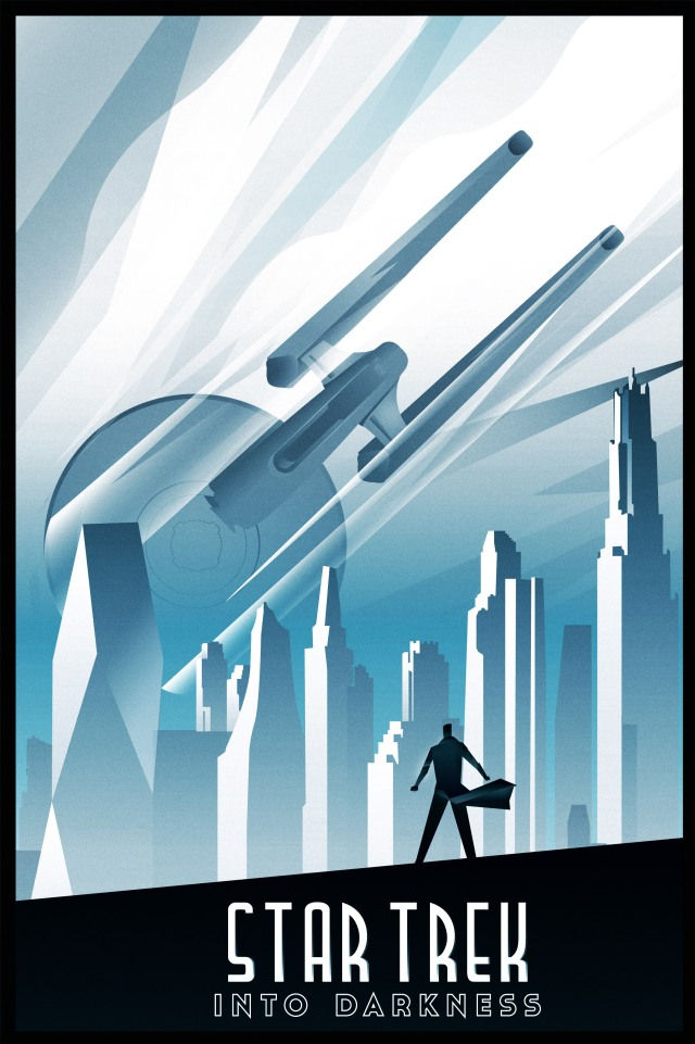 star trek art deco