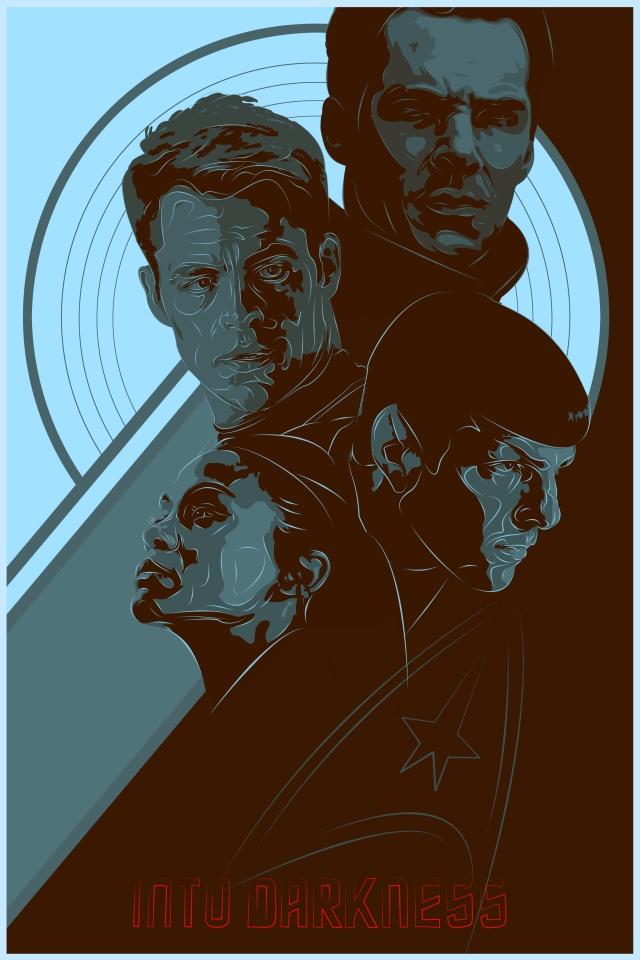 Star Trek Into Darkness Blue Variant