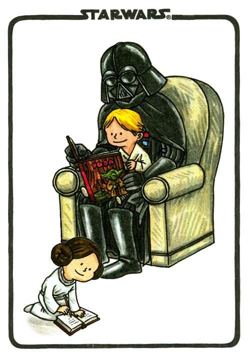 Happy Father's Day From BLURPPY And The Vaders | blurppy