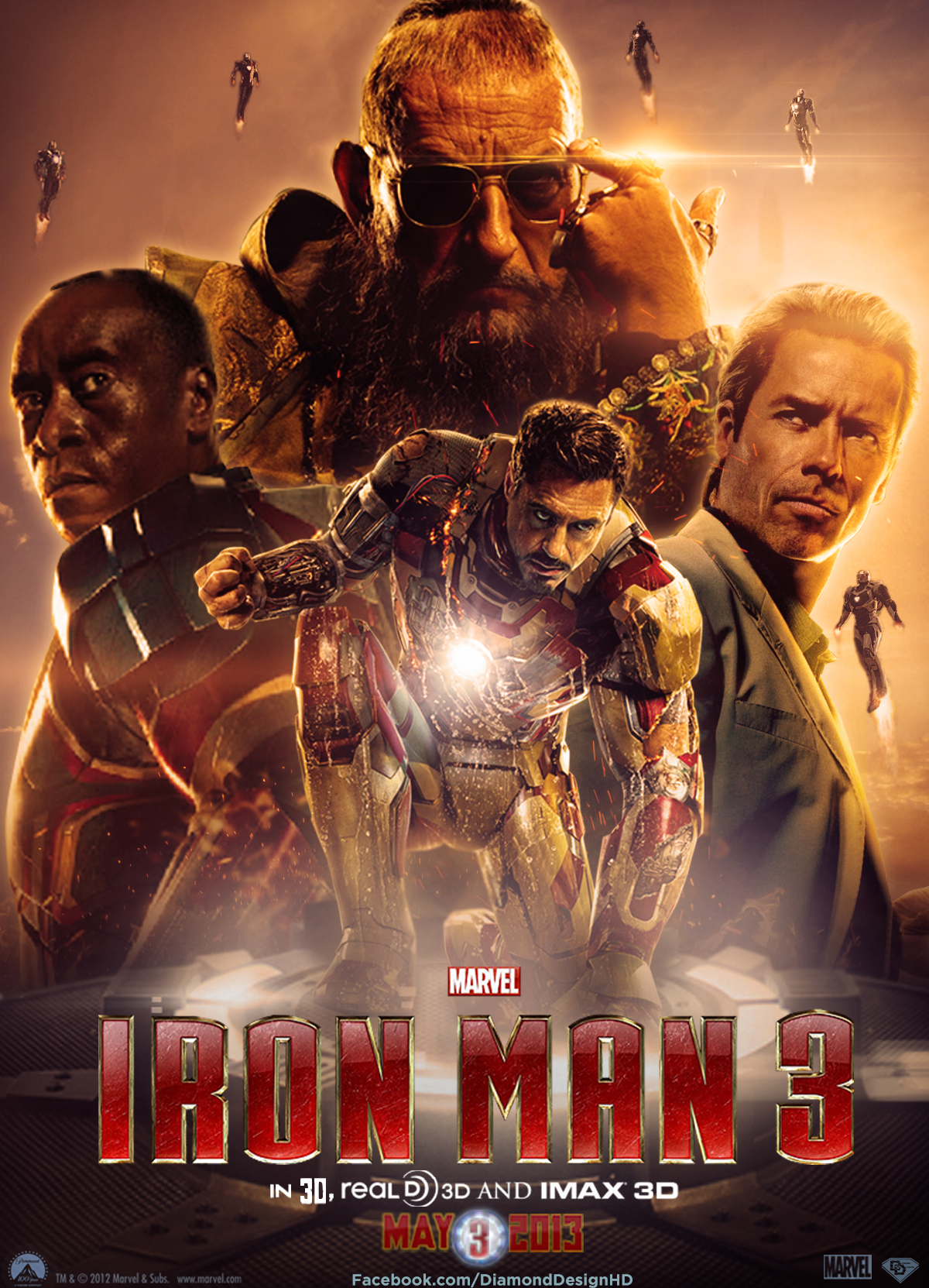 Marvel S Iron Man 3 Rockets Into Your Home This September