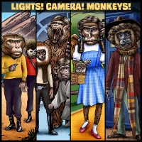 Lights! Camera! Monkeys? Artist Chet Phillips Gives Us A Look At Primate Pop Culture