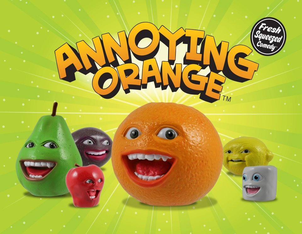 annoying orange toys pear - photo #14