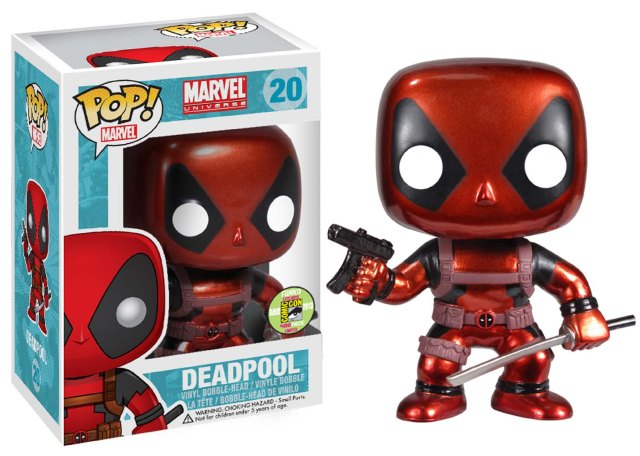 DeadPool CHROME POP copy