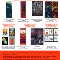 Kevin Tong Is Bringing All New Stuff To Comic Con And It DEMANDS You Empty Your Wallet