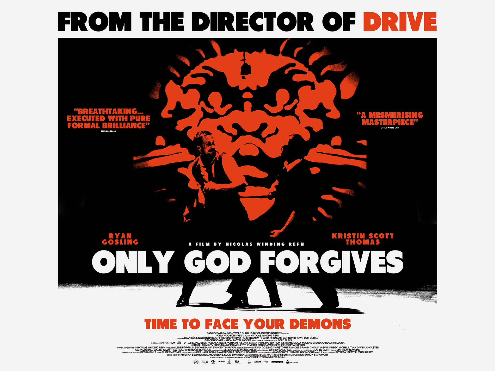 Only God Forgives Neon Poster Enter Little White Lie...