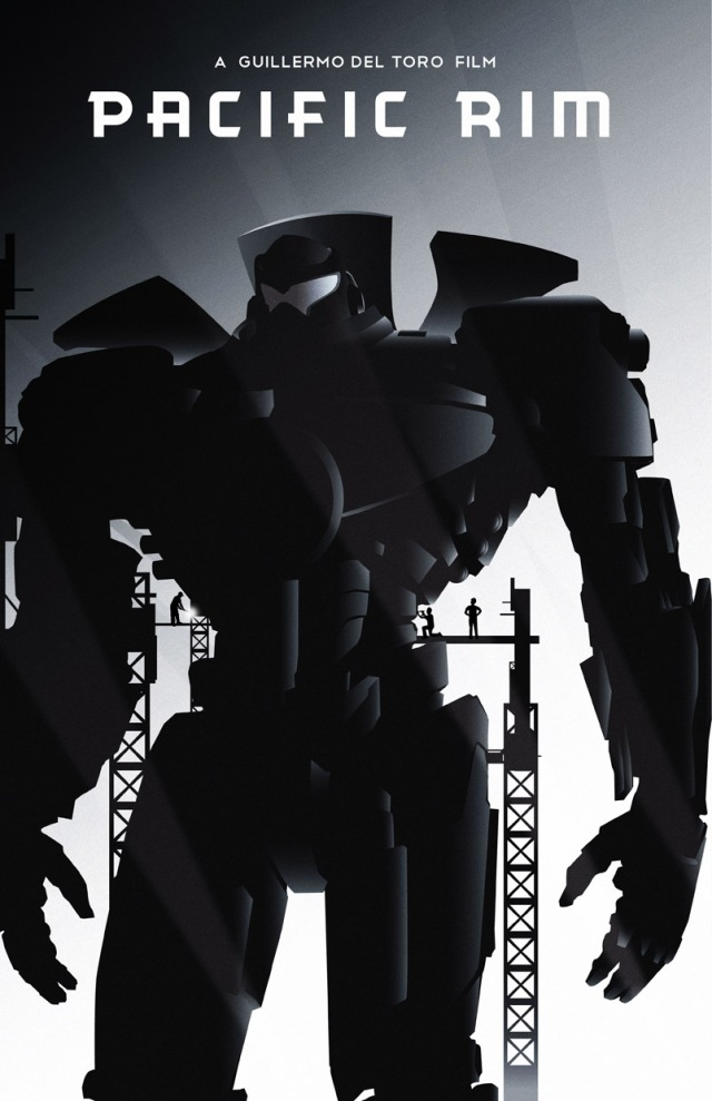pacific rim poster proyect