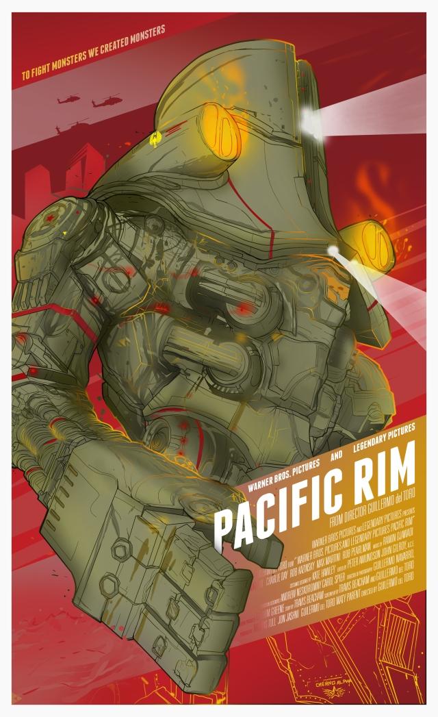 pacificrim_poster_berkaydaglar  2