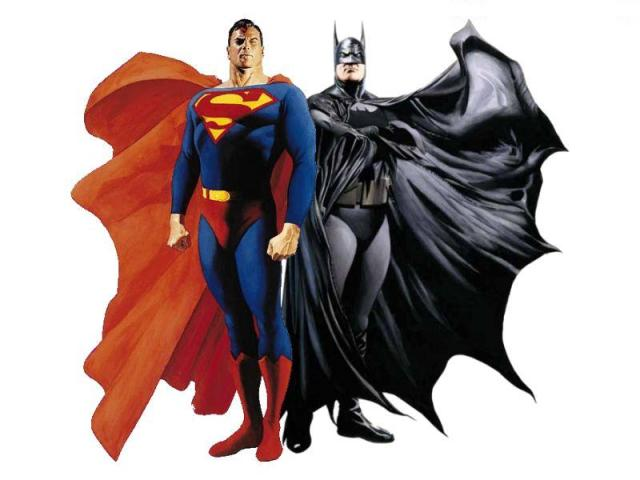 ALex-ross-batman-superman