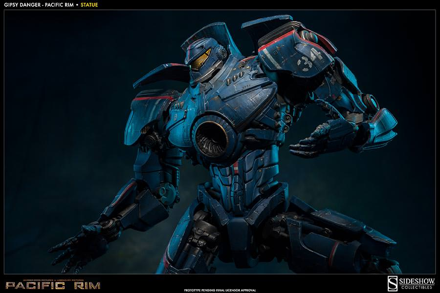 Sideshow Collectibles Delivers A Fantastic Statue For ... Pacific Rim Gipsy Danger