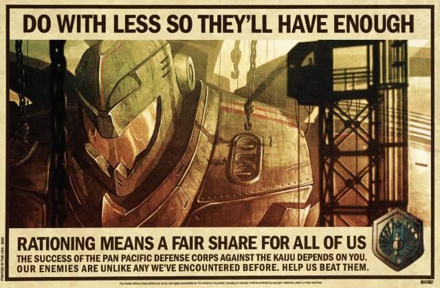 Pacific Rim Propoganda Poster