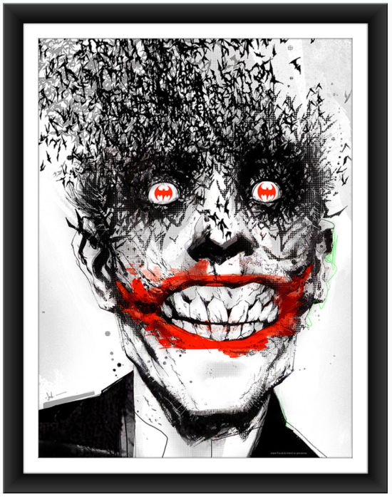 JOCK Joker The Black Mirror