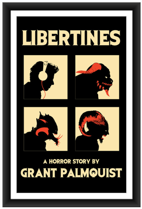 Libertines e-book cover Sharm Murugiah
