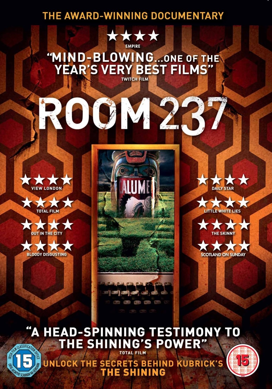 -room 237 dvd cover. ""