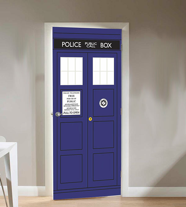 _tardis_door_cling & If You Have Ever Wanted Your Own Doctor Who Tardisu2026 | blurppy pezcame.com