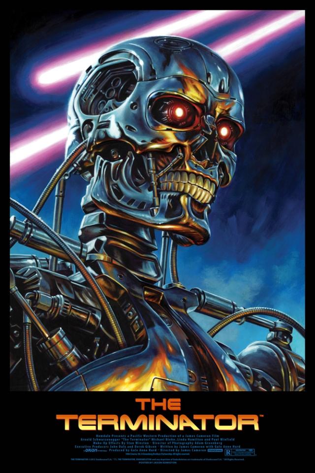 Terminator giclee jason edmiston