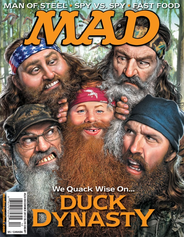 MAD Magazine 524 Cover Duck Dynasty
