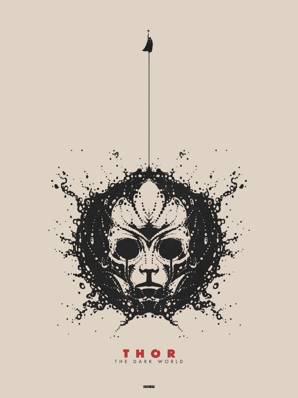 -matt-ferguson-Thor-the-dark- Thor The Dark World Mondo Poster