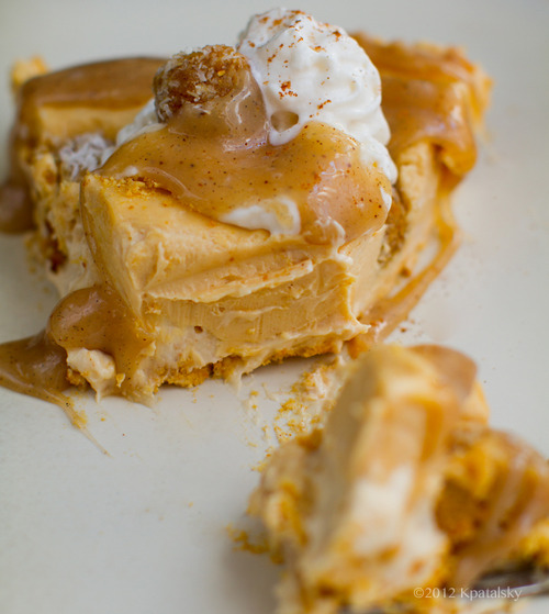 no-bake-peanut-butter-carmel-cheesecake-with-pumpkin-cookie-dough