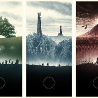 "Marko Manev's Lord Of The Rings Set For Hero Complex Gallery's ""Young Guns"" Show Will Take Your Breath Away!  ON SALE TODAY AT 9 AM PST!"