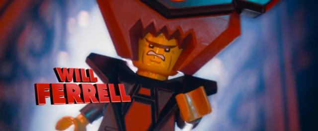 Lego Movie Will Farrell