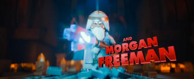 Lego Movie Morgan Freeman