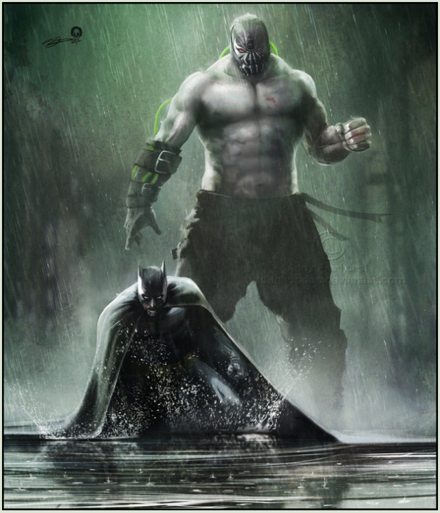 _Andy Fairhurst Batman-Bane