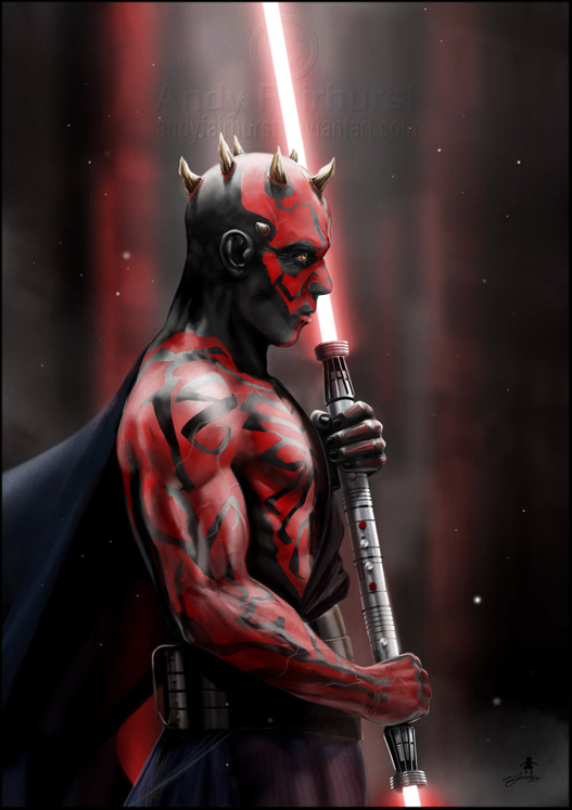 Darth Maul - Andy Fairhurst