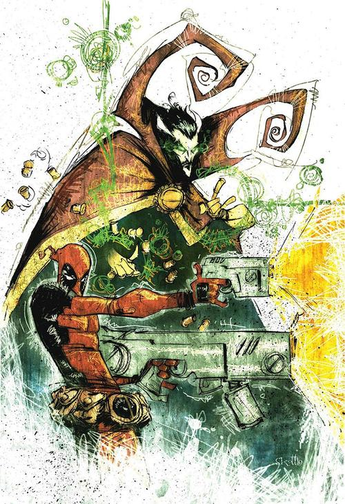 Skottie-young-DoctorStrange-Deadpool