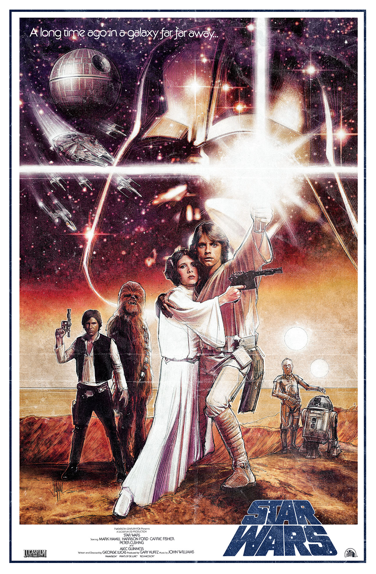 "Topps Gives Us ""Star Wars Illustrated: A New Hope ..."