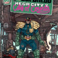 "IDW Announces A New Judge Dredd Mini-Series: ""Mega City 2 - City Of Courts"""