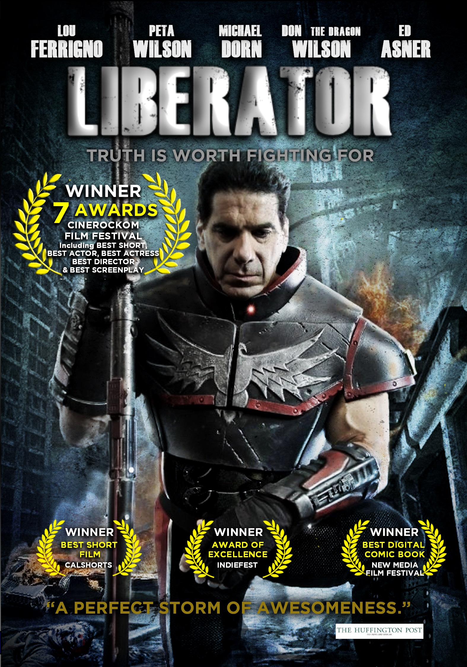 Lou Ferrignos Award Winning Liberator Just Released On Dvd And