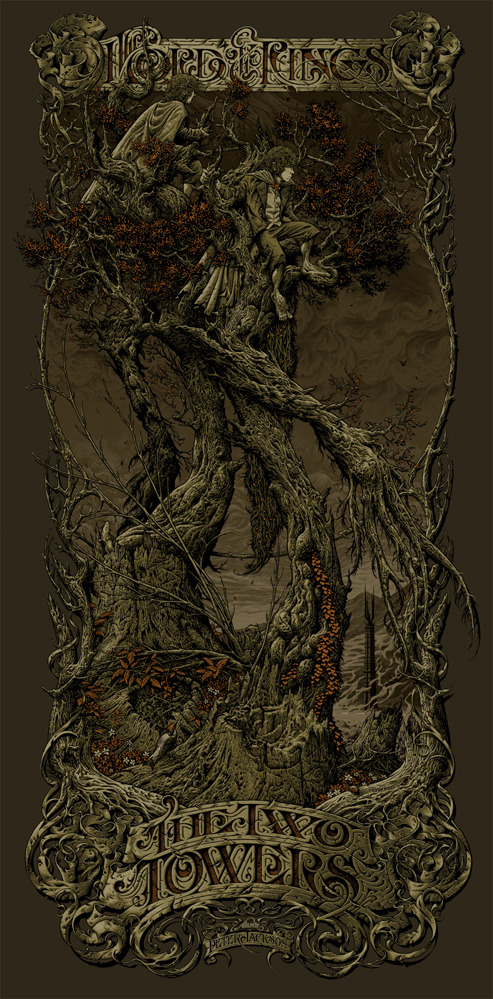 mondo-aaron-horkey-the-two-towers-variant
