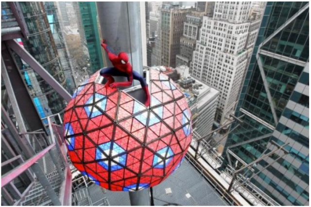 The amazing spider-man-times-square