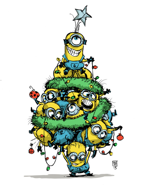 _Skottie-young-minion-christmas